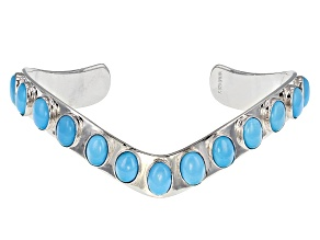 Pre-Owned Turquoise Sleeping Beauty Silver Bracelet