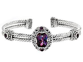 Pre-Owned Xanadu™ Mystic Quartz® Silver Bracelet 5.30ctw