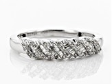 Pre-Owned White Diamond 10k White Gold Ring 0.20ctw