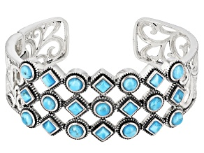 Pre-Owned Turquoise Sterling Silver Bracelet