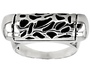 Pre-Owned Sterling Silver Bar Ring