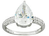 Pre-Owned Platineve Cubic Zirconia Ring 5.97ctw