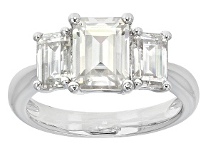 Pre-Owned Moissanite Ring Platineve™ 2.91ctw DEW