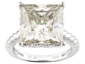 Pre-Owned Moissanite Ring Platineve™ 9.10ctw DEW
