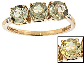 Pre-Owned Color change Turkish Zultanite® 14k yellow gold ring 1.40ctw.