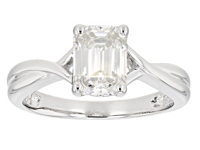 Pre-Owned Moissanite Ring Platineve™ 1.75ctw DEW