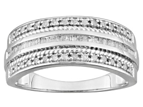 Pre-Owned Diamond Sterling Silver Band .33ctw