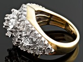 Pre-Owned Diamond 14k Yellow Gold Over Sterling Silver Ring .20ctw