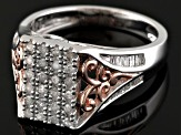 Pre-Owned Diamond Two Tone Ring .50ctw