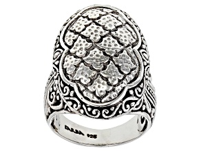 "Pre-Owned Sterling Silver ""Grace"" Ring"