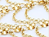 Pre-Owned Gold Tone Statement Necklace
