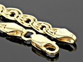 Pre-Owned 14k Yellow Gold Hollow Curb Link Necklace 20 inch