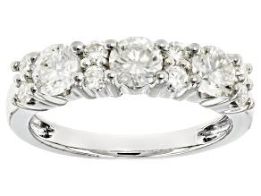 Pre-Owned Moissanite Platineve Ring 1.31ctw D.E.W