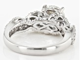 Pre-Owned Moissanite Platineve Ring 2.56ctw D.E.W