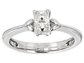 Pre-Owned Moissanite Platineve Ring .70ct D.E.W