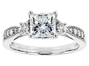 Pre-Owned Moissanite Platineve Ring 1.96ctw D.E.W