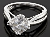 Pre-Owned Moissanite Ring Platineve™ 2.40ct DEW.
