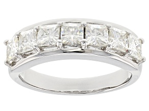 Pre-Owned Moissanite Platineve Ring 2.59ctw DEW