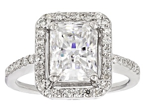 Pre-Owned Moissanite Platineve Ring 3.10ctw DEW