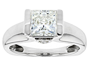 Pre-Owned Moissanite Ring Platineve™ 2.20ctw DEW