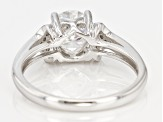 Pre-Owned Moissanite Platineve Ring 1.90ctw D.E.W