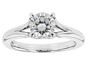 Pre-Owned Moissanite Ring Platineve™ 1.20ct DEW