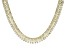 Pre-Owned Cubic Zirconia 18k Yellow Gold Over Silver Necklace 208.50ctw