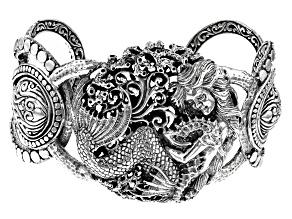 Pre-Owned Sterling Silver Mermaid Bracelet