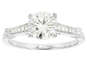 Pre-Owned Moissanite Platineve Ring 2.08ctw D.E.W