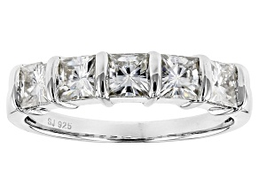 Pre-Owned Moissanite Ring Platineve™ 2.05ctw DEW