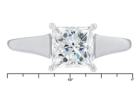 Pre-Owned Moissanite Ring Platineve ™ 2.30ct DEW