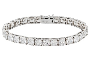 Pre-Owned Cubic Zirconia Sterling Silver Bracelet 40.60ctw