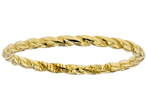 Pre-Owned 10k Yellow Gold Twisted Band Ring