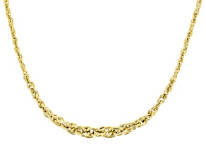 Pre-Owned 14k Yellow Gold Spirali Oro 20 inch Necklace
