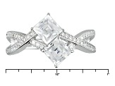 Pre-Owned Cubic Zirconia Platineve Ring 2.69ctw (1.65ctw DEW)