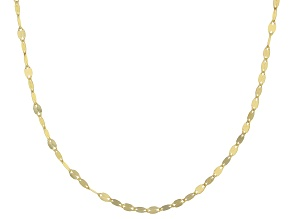 Pre-Owned 14k Yellow Gold Valentino 18 inch Chain Necklace