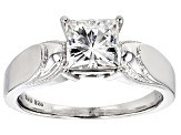 Pre-Owned Moissanite Platineve Ring 1.70ctw D.E.W