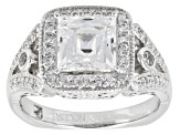 Pre-Owned Cubic Zirconia Platineve Ring 3.74ctw