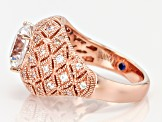 Pre-Owned Cubic Zirconia Rose Eterno Ring 5.21ctw