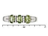 Pre-Owned Green Demantoid Garnet Sterling Silver Ring .82ctw