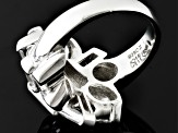 Pre-Owned White Cubic Zirconia  Sterling Silver Ring 13.29ctw