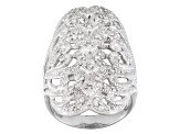 Pre-Owned Cubic Zirconia Sterling Silver Ring .81ctw
