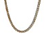 Pre-Owned Bella Luce® 30.81ctw Champagne Diamond Simulant Rhodium Over Silver Necklace