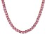 Pre-Owned Bella Luce® 30.81ctw Pink Diamond Simulant 18k Rose Gold Over Silver Necklace