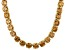 Pre-Owned Bella Luce® 126.64ctw Champagne Diamond Simulant 18k Gold Over Silver Necklace