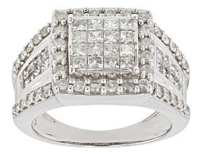 Pre-Owned Diamond 10k White Gold Ring 2.0ctw