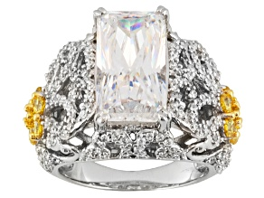 Pre-Owned Platineve Cubic Zirconia Ring 11.61ctw