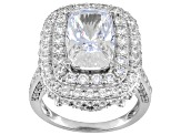 Pre-Owned Platineve Cubic Zirconia Ring 10.07ctw