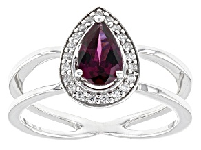 Pre-Owned Purple Rhodolite Sterling Silver Ring .92ctw