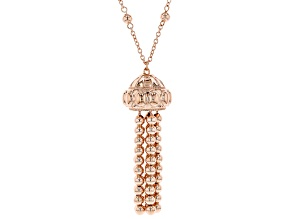 Pre-Owned Copper Tassel Necklace